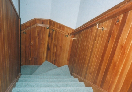 Staircase carpentry