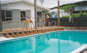 Pool Decks and renovations (before)