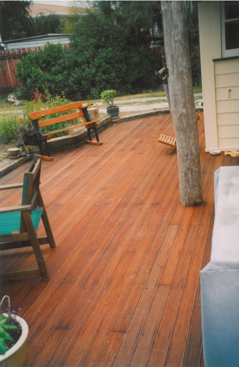 Decks and verandahs